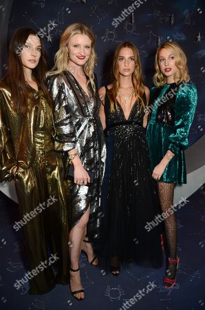 Jacquelyn Jablonski, Candice Lake and Talita von Furstenberg Princess Maria-Olympia of Greece