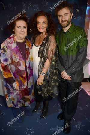 Suzy Menkes, Diane von Furstenberg and Thomas Heatherwick
