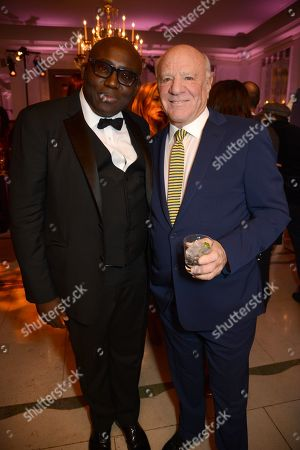 Edward Enninful and Barry Diller