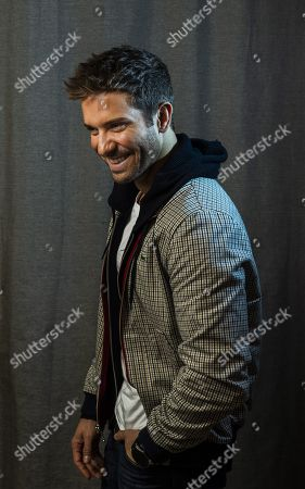 Pablo Alboran poses during an interview with Spanish international news agency Efe in Madrid, Spain, 29 November 2018, on occasion of the re edition of his album 'Prometo'.