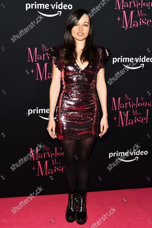 Editorial picture of 'The Marvelous Mrs. Maisel' season 2 TV show premiere, Arrivals, New York, USA - 29 Nov 2018