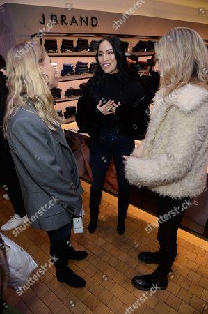 Jessie Bush, Stephanie Shepherd and Lucy Williams
