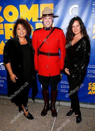 Michaela Pereira, a member of the Royal Canadian Mounted Police and Magda Molina