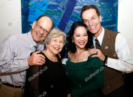 Stock Image of Nick Marson, Diane Marson, Christine Toy Johnson and Chamblee Ferguson
