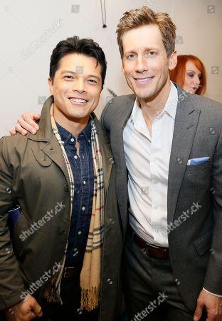 Vincent Rodriguez III and Andrew Samonsky