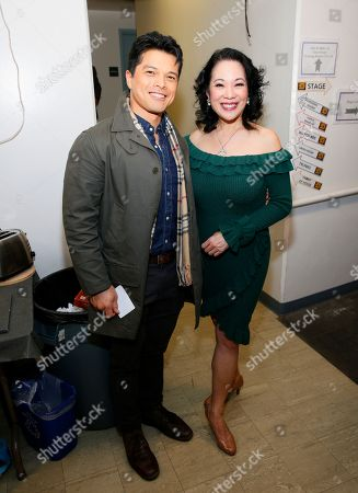 Vincent Rodriguez III and Christine Toy Johnson