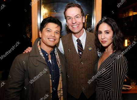 Stock Picture of Vincent Rodriguez III, Chamblee Ferguson and Gabrielle Ruiz