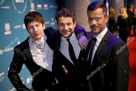 Barry Keoghan, Bart Layton and Dimitri Doganis
