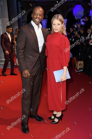 Adrian Lester and Kelly Adams
