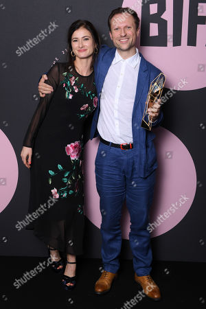 Editorial image of British Independent Film Awards, Press Room, Old Billingsgate, London, UK - 02 Dec 2018
