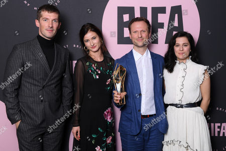Editorial photo of British Independent Film Awards, Press Room, Old Billingsgate, London, UK - 02 Dec 2018