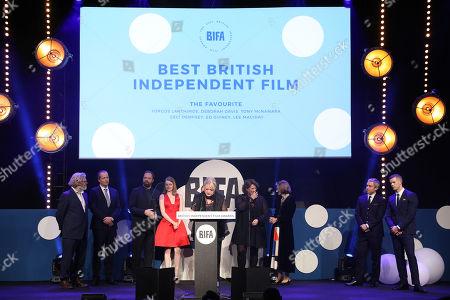 Editorial image of British Independent Film Awards, Ceremony, Old Billingsgate, London, UK - 02 Dec 2018
