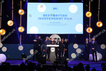 Editorial photo of British Independent Film Awards, Ceremony, Old Billingsgate, London, UK - 02 Dec 2018