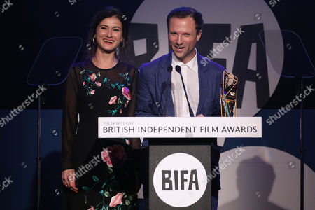 Orlando von Einsiedel and Joanna Natasegara - Best Documentary - 'Evelyn'