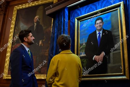 Paul Ryan, Leslie Bowman. House Speaker Paul Ryan of Wis., stands with portrait artist Leslie Bowman on Capitol Hill in Washington, . Bowman's portrait of Ryan was unveiled during a reception on Capitol Hill