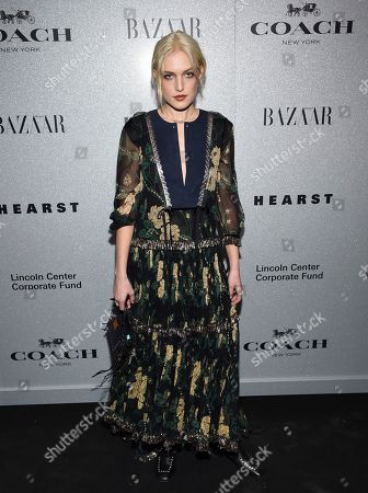 Carlotta Kohl attends the Lincoln Center Corporate Fund fashion gala honoring Coach at Alice Tully Hall, in New York