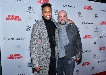 Trey Songz and director John Pogue