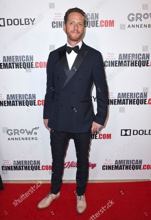 Brian Klugman arrives at the American Cinematheque Award ceremony honoring Bradley Cooper, at the Beverly Hilton Hotel in Beverly Hills, Calif