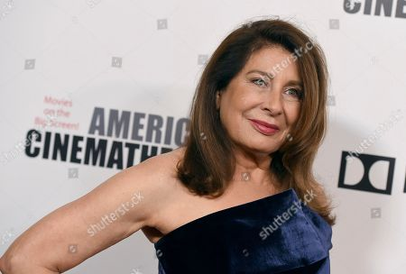 Paula Wagner arrives at the American Cinematheque Award ceremony honoring Bradley Cooper, at the Beverly Hilton Hotel in Beverly Hills, Calif