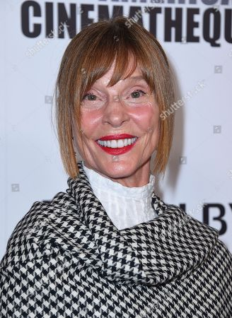 Leigh Taylor-Young arrives at the American Cinematheque Award ceremony honoring Bradley Cooper, at the Beverly Hilton Hotel in Beverly Hills, Calif