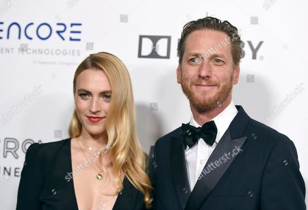 Stephanie Tarling, Brian Klugman. Stephanie Tarling, left, and Brian Klugman arrive at the American Cinematheque Award ceremony honoring Bradley Cooper, at the Beverly Hilton Hotel in Beverly Hills, Calif