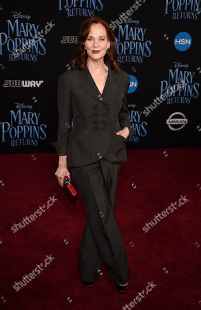 """Lesley Ann Warren poses at the premiere of the film """"Mary Poppins Returns"""" at the Dolby Theatre, in Los Angeles"""