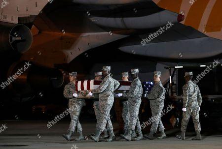 Casualties returned Afghanistan Hookstown Stock Photos