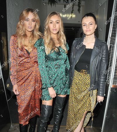 Nicola Hughes, Sophie Habboo and Emily Blackwell