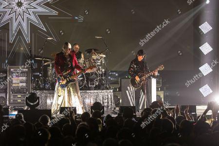 The Smashing Pumpkins - Billy Corgan, Jimmy Chamberlin and James Iha