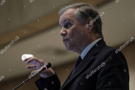 Ignazio Visco, Governor of the Bank of Italy, speaks during the launch event of Target Instant Payment Settlement (TIPS) developed by ECB and Bank of Italy, in Rome, Italy, 30 November 2018.