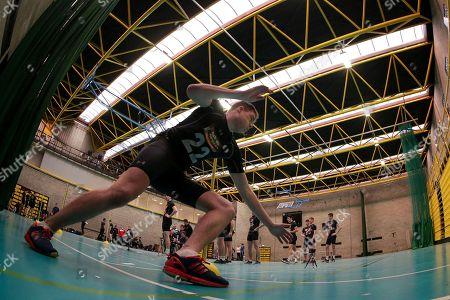 Sean Walsh during the agility run