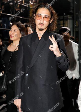 Yosuke Kubozuka in the front row