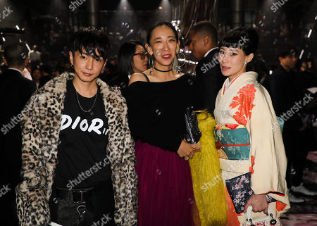 Editorial photo of Dior Homme show, Front Row, Pre Fall 2019, Tokyo, Japan - 30 Nov 2018