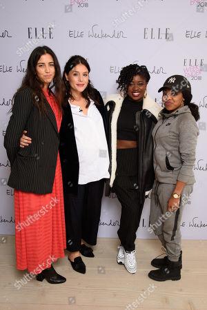 Shannon Mahanty, Jessie Ware, Clara Amfo and Mc Lady Leshurr