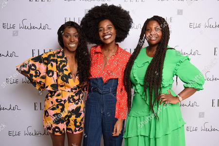 Laura Mvula, Freddie Harrel and Charlotte Mensah