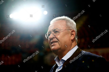 Martin Winterkorn, former CEO of the German car manufacturer 'Volkswagen', arrives for the annual general meeting of FC Bayern Munich soccer club in Munich, Germany