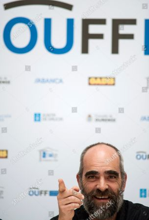 Luis Tosar attends a press conference on occasion of the Ourense 23rd International Film Festival in Orense, Galicia, northern Spain, 30 November 2018.