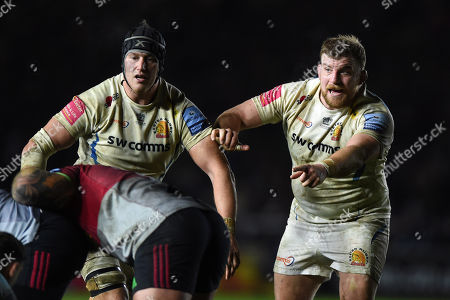 Editorial picture of Harlequins v Exeter Chiefs, UK - 30 Nov 2018