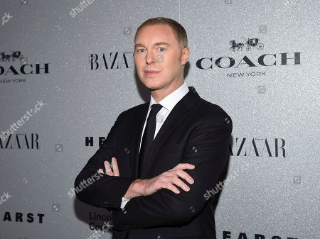 Coach creative director Stuart Vevers attends the Lincoln Center Corporate Fund fashion gala honoring Coach at Alice Tully Hall, in New York