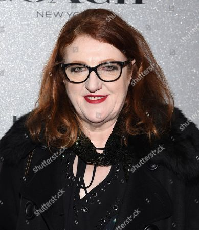 Harper's Bazaar editor-in-chief Glenda Bailey attends the Lincoln Center Corporate Fund fashion gala honoring Coach at Alice Tully Hall, in New York