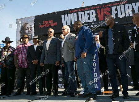 Editorial picture of Wilder Fury Boxing, Los Angeles, USA - 30 Nov 2018