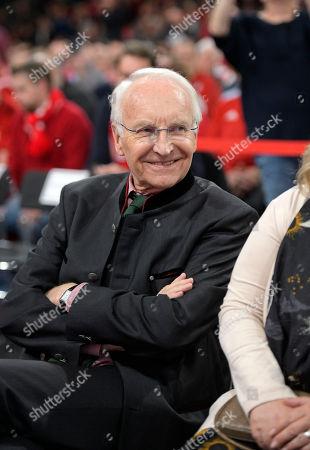 30.11.2018, Football 1. Bundesliga 2018/2019,  FC Bayern Muenchen, Jahreshauptversammlung AUDI-Dome Muenchen,  Edmund Stoiber