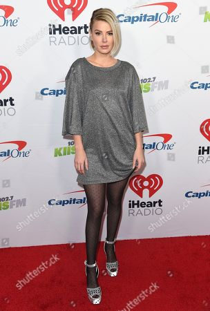 Ariana Madix arrives at Jingle Ball, at The Forum in Inglewood, Calif