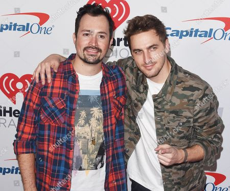 Kendall Schmidt and Dustin Belt
