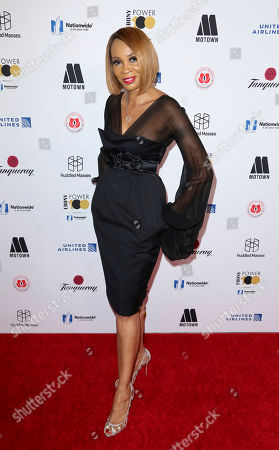 Stock Photo of Kiko Davis arrives at the 2018 EBONY Power 100 Gala at the Beverly Hilton, in Beverly Hills, Calif