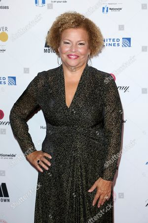 Debra L. Lee arrives at the 2018 EBONY Power 100 Gala at the Beverly Hilton, in Beverly Hills, Calif