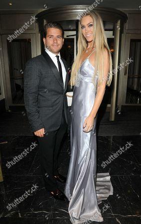 Stock Image of Jonny Dodge and Cassandra Jayne Harris
