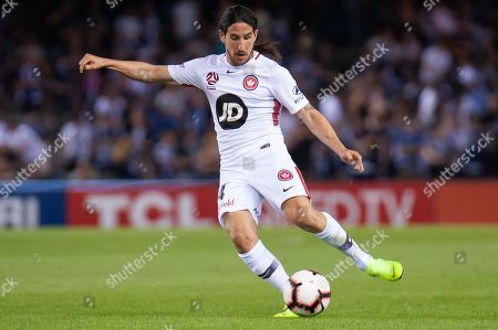Editorial image of Melbourne Victory v Western Sydney Wanderers, A-League, Round 6, Marvel Stadium, Melbourne, Australia - 01 Dec 2018