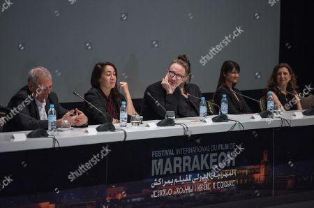 Editorial picture of Jury Press Conference - Marrakech International Film Festival, Morocco - 01 Dec 2018
