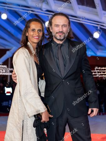 Karine Silla and Vincent Perez attend the Opening Ceremony